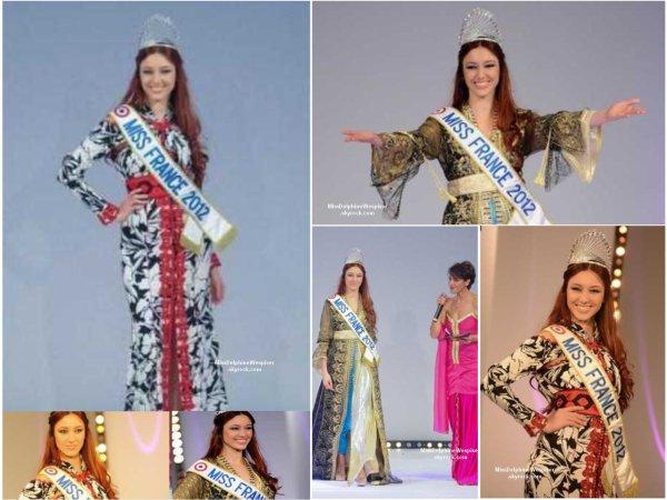 Miss France en caftan marocain à Marrakech