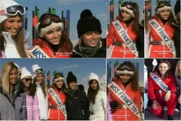 Nouvelles photos des Miss à Megèves