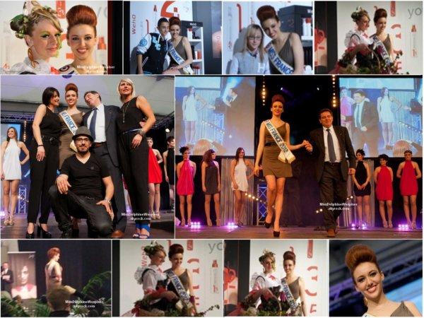 19/04 Delphine a inauguré la Foire Expo de Rodez en compagnie du Maire