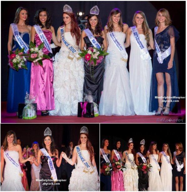 12/10 Laura Madelain a remis son titre de Miss Midi-Pyrénées à Célia Guermoudj