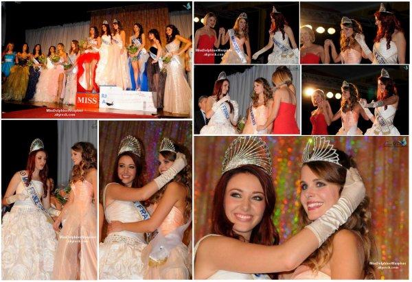 27/10 Julie Jacquot a remporté le titre de Miss Rhône-Alpes 2012. C'était également le dernier show Miss France de l'année!