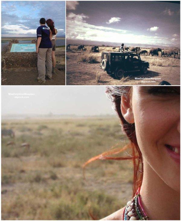 31/10 Delphine était au Kenya pour plaider la cause des éléphants d'Amboseli