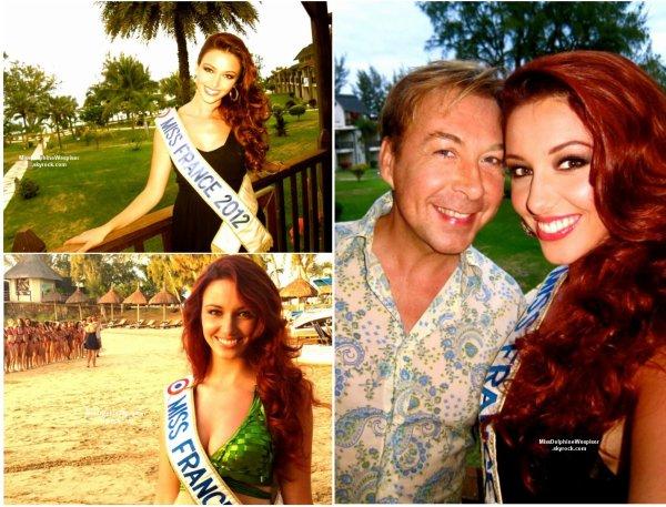 14/11 L'ensemble des Miss régionales était présente au journal de 13h