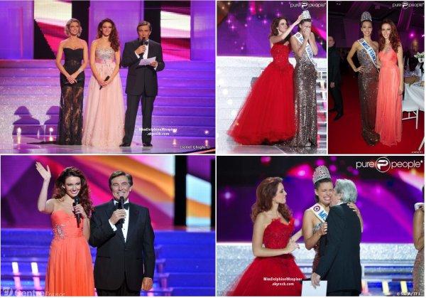 8/12 Marine Lorphelin est élue Miss France 2013