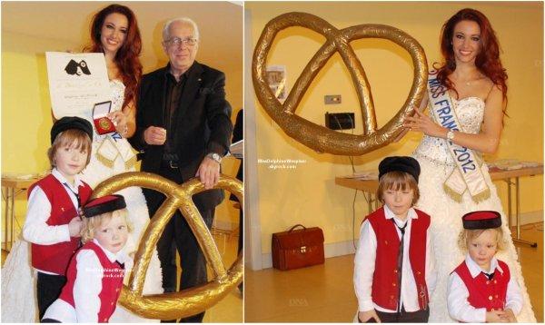 20/01Delphine est devenue la plus jeune lauréate du Bretzel D'or, une récompense Alsacienne!