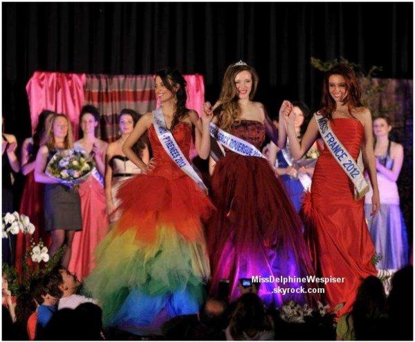29/03 Delphine était présente à l'élection de Miss Quercy-Rouergue, qualificative pour Miss Midi-Pyrénées