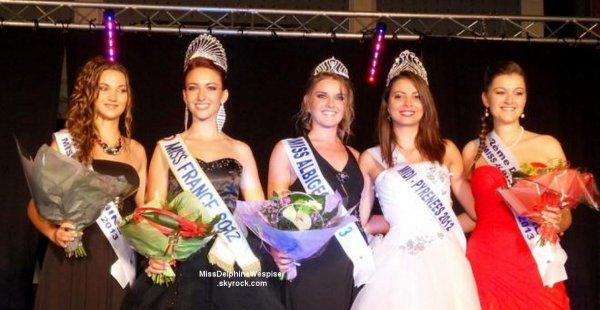 20/09 Laura Pierre est élue Miss Poitou-Charentes en présence de Delphine!