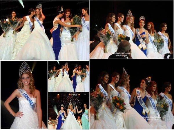 Election de Miss Lorraine 2013!