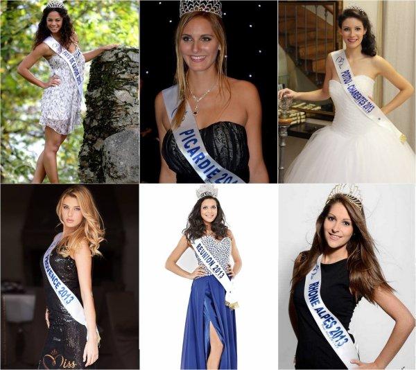 Voici les 33 candidates au titre de Miss France!