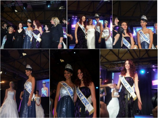 2/02 Delphine était accompagnée de Flora Coquerel, Miss France 2014 lors du salon Beauté sélection à Strasbourg