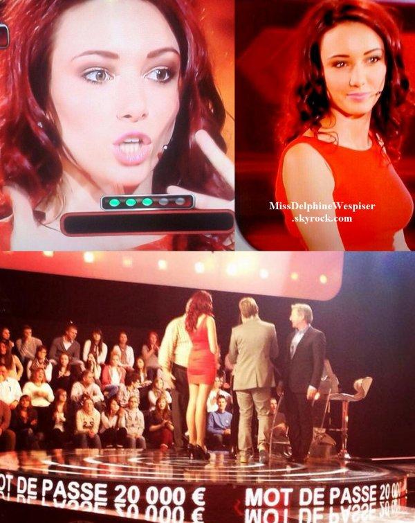 """3/05 Delphine participait à l'émmision """"Mot De Passe"""" sur France 2!"""
