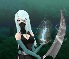 Ice Girl Ninja. :P