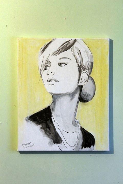 Portrait - Peinture et pastel