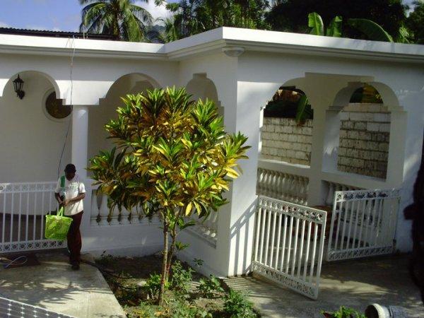 Ma maison en Haiti à Aquin Sud