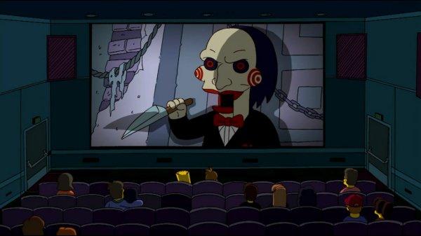 Les Simpson parodie Saw