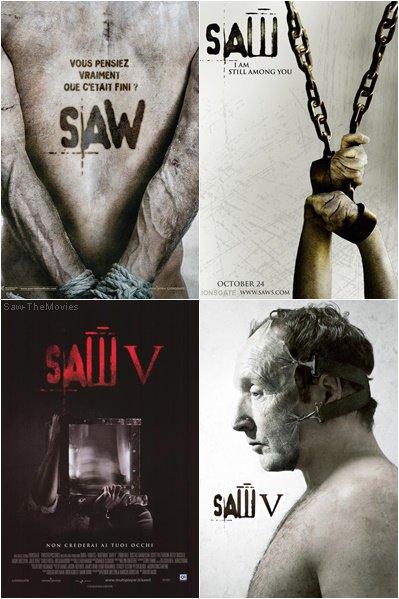 Les Affiches de Saw