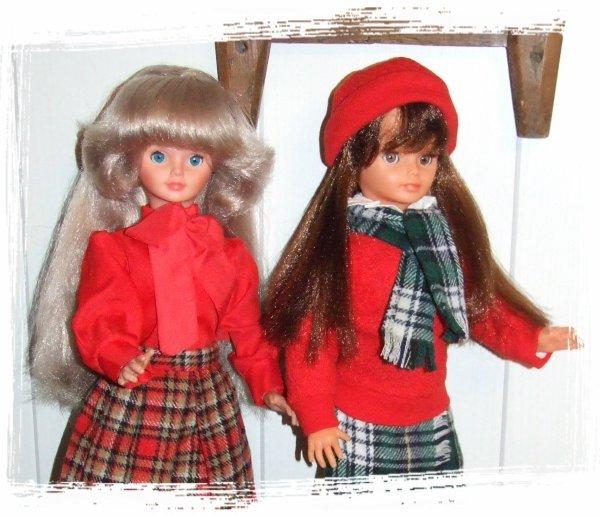 """Cathie en tenue """"Collégienne"""" de 1979"""