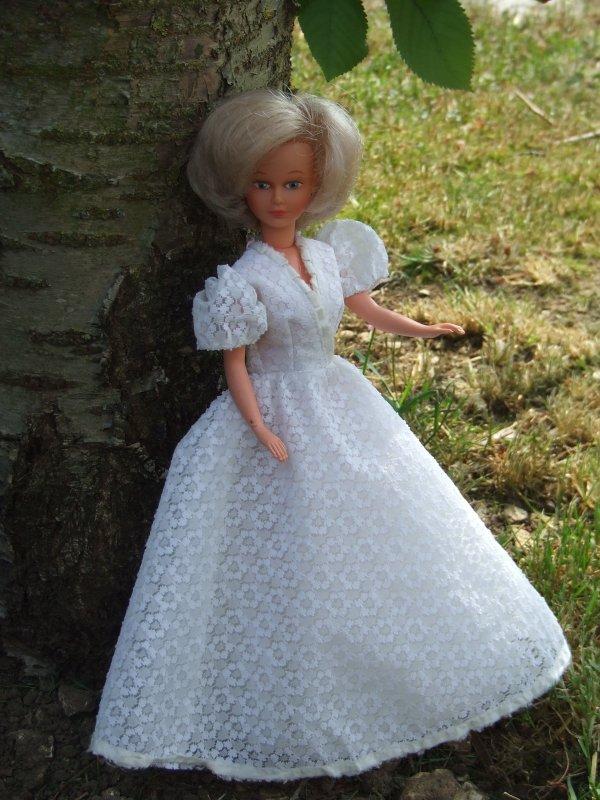 robe de mariée de 1981 pour Tressy