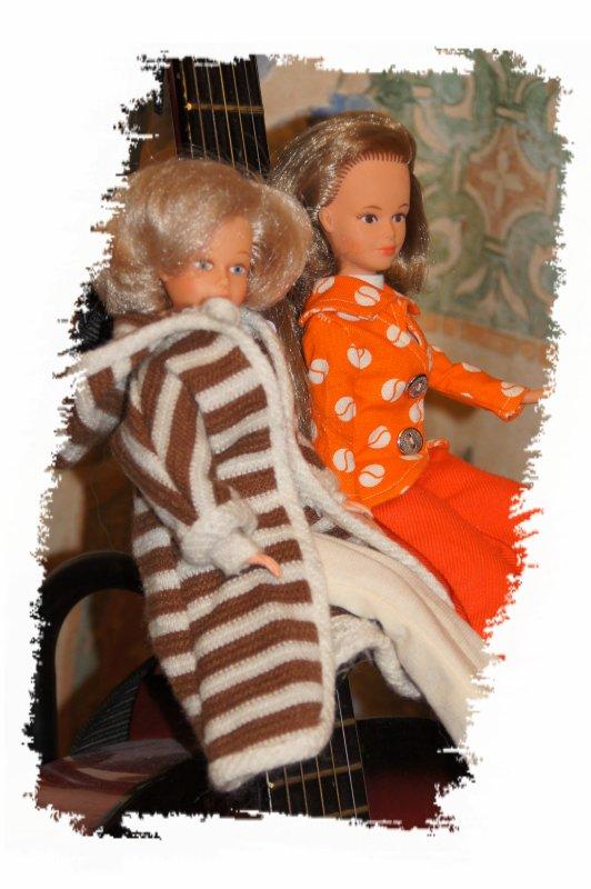 Tressy et la veste Rose de 1973