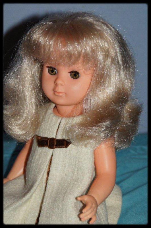Arrivée d'une jolie blonde prénommée Marie Françoise