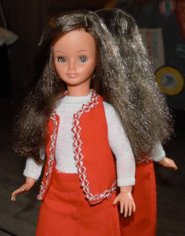 Cathie dans sa tenue Sauvette 1971