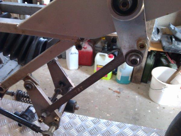 fabrication d'un outil pour caler le paralélogramme