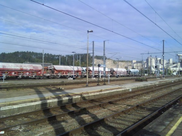 En gare de Jemelle
