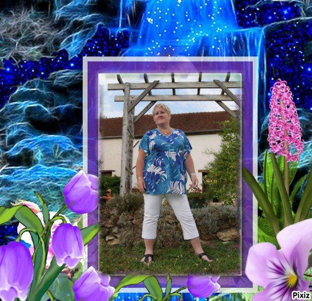 """Merci a mon amie Marie Thérèse du blog """" CAPUCINE55500 """" pour cette magnifique création !!!"""