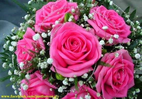 """Magnifique cadeau de mon amie Jocelyne du blog """" Lilou1966 """" !!! Moi qui adore les fleurs !!!! (l)"""