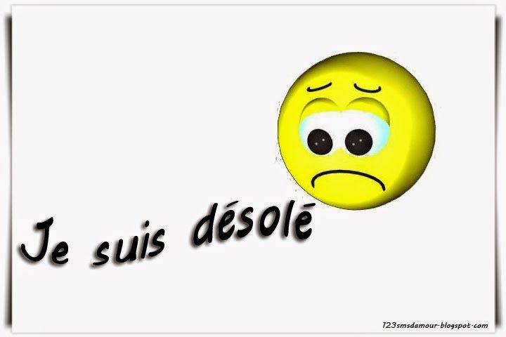 Désolé !!!!