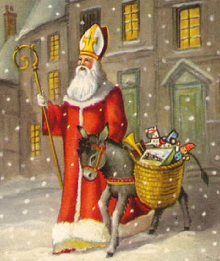 Bonne Saint Nicolas à tous mes amis qui le fêtent !!! Gros bisous du (l) !!!