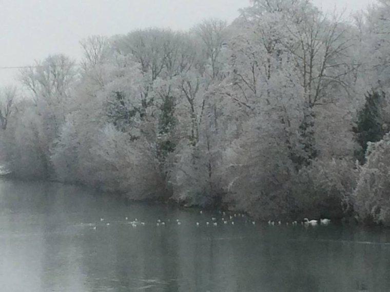 L'hiver est la et bien la , photo prise par mon rayon de soleil Christelle !!! (l)
