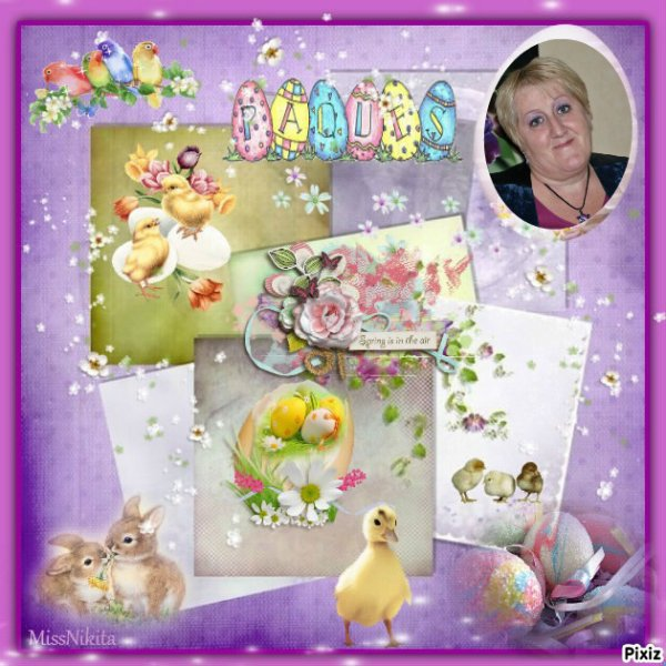 """Très beau cadeau de mon amie Marie Thérèse du blog """" CAPUCINE55500 """" merci a toi mon amie !!!"""