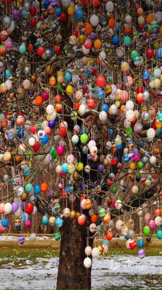 Très original pour Pâques mais alors quel travail ......