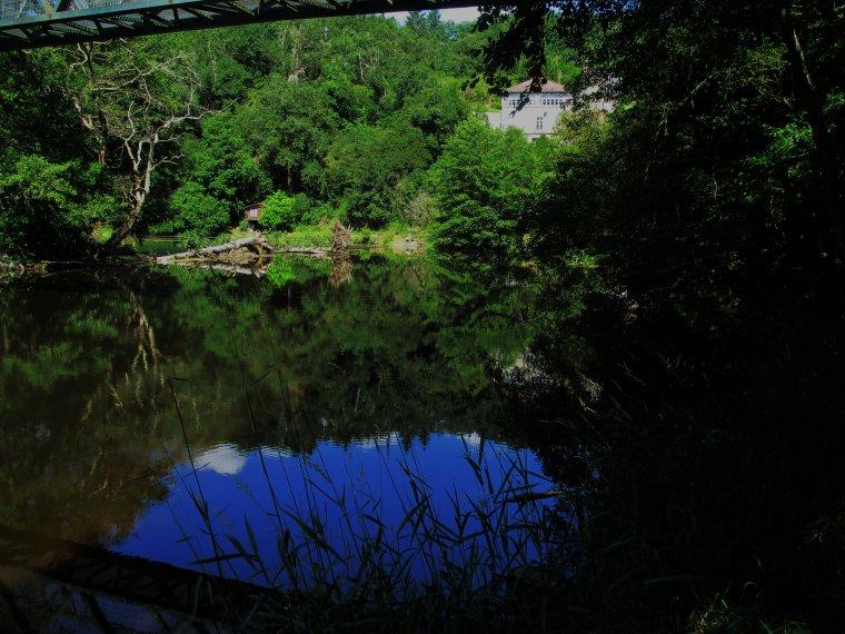 Souvenirs de vacance en Creuse !!! Le moulin noyé de Glénic !!! photos perso !!!