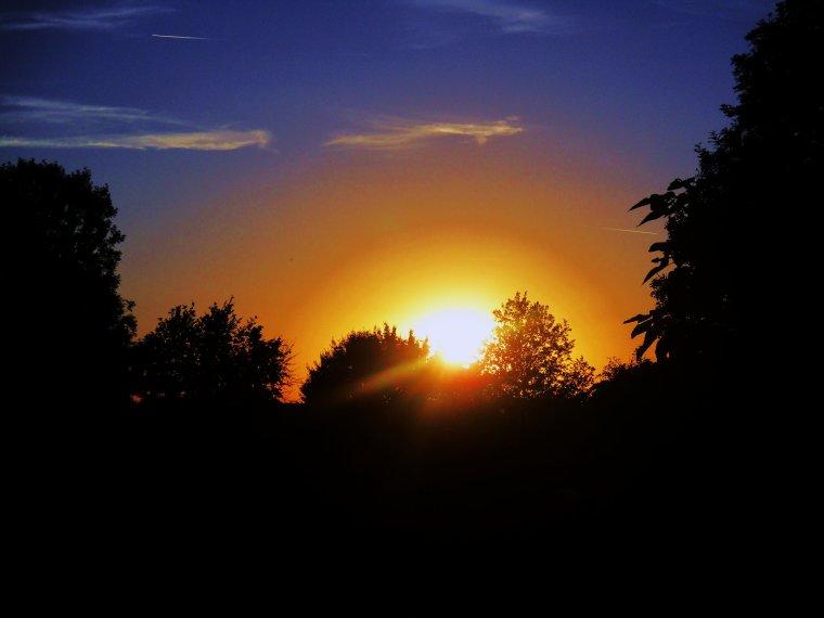 Mes couchers de soleil !!!! Photos perso !!!!