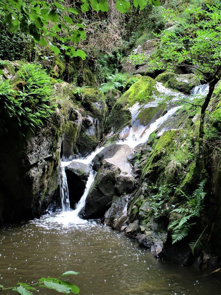 Photos perso des cascades de Mouline à Anzème dans la Creuse !!!