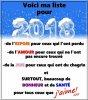 Bonne année a tous, que cette nouvelle année vous apporte joie et bonheur , gros bisous a tous !!!