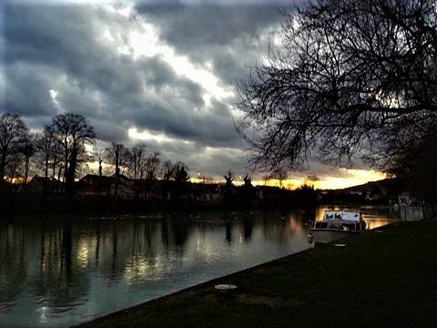 Mes couchers de soleil sur la Marne !!! Photos perso !!!
