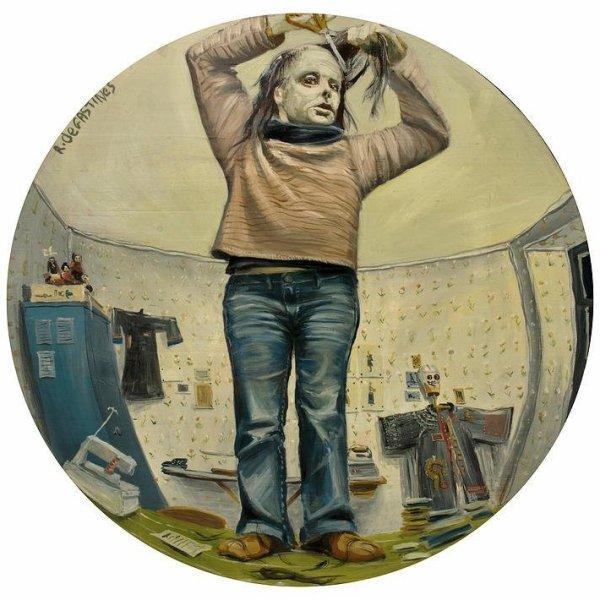 Raphaele de Gastines, Artiste-Peintre.