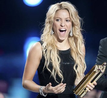 shakira nrj awards 2011 !!!!