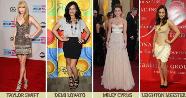MODE / Mes seléctions ; des plus belles tenues de cette année 2010.
