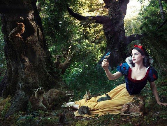 Disney par Annie Leibovitz