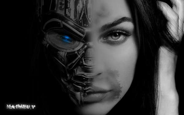 Megan fox en Terminator version T-K