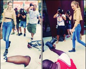 . — La belle Gigi Hadid se retrouve désormais sur la nouvelle campagne Penshoppe !     Les BFF Gigi Hadid et Kendall Jenner se retrouvent sur la nouvelle campagne Penshoppe. Un duo de choc qui fait des ravages ! Sublime, j'adore... .