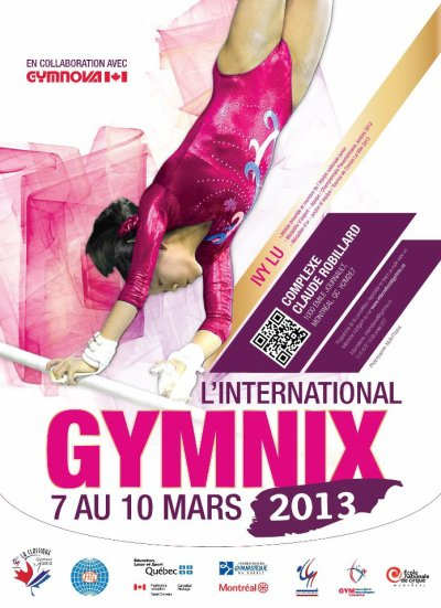 Gymnix Montréal, 7-10 mars 2013