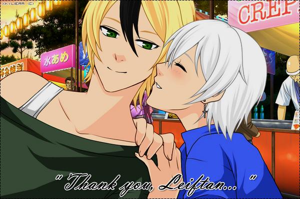 【OS】 Évent : Valentine's Day w/ Kyliera & Leiftan (Cadeau ♥)