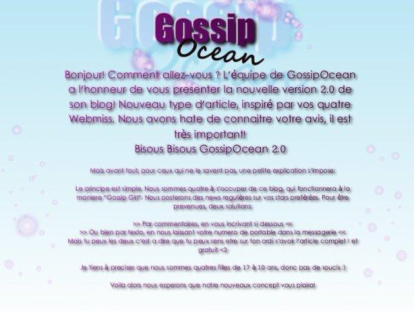 Bienvenue sur Gossip Ocean ☮
