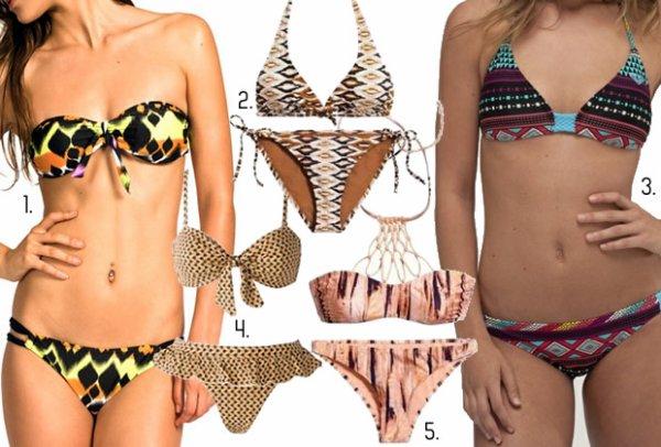 Les tendances maillots de bain 2012 et conseils morpho .
