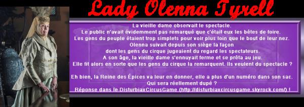 DisturbiaxCircusGame - Lady Olenna Tyrell, Reine des Épines